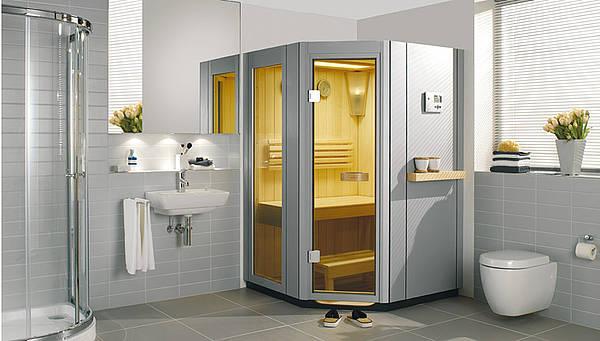 Caravan Zonder Badkamer ~ Villeroy & Boch combi sauna SA line  Product in beeld  Startpagina