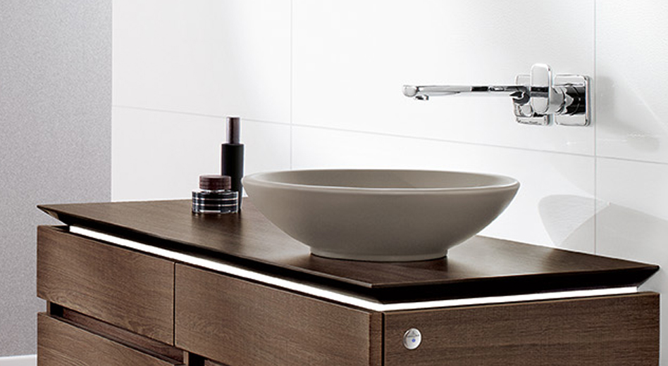 Villeroy & Boch waskom Loop & Friends Timber