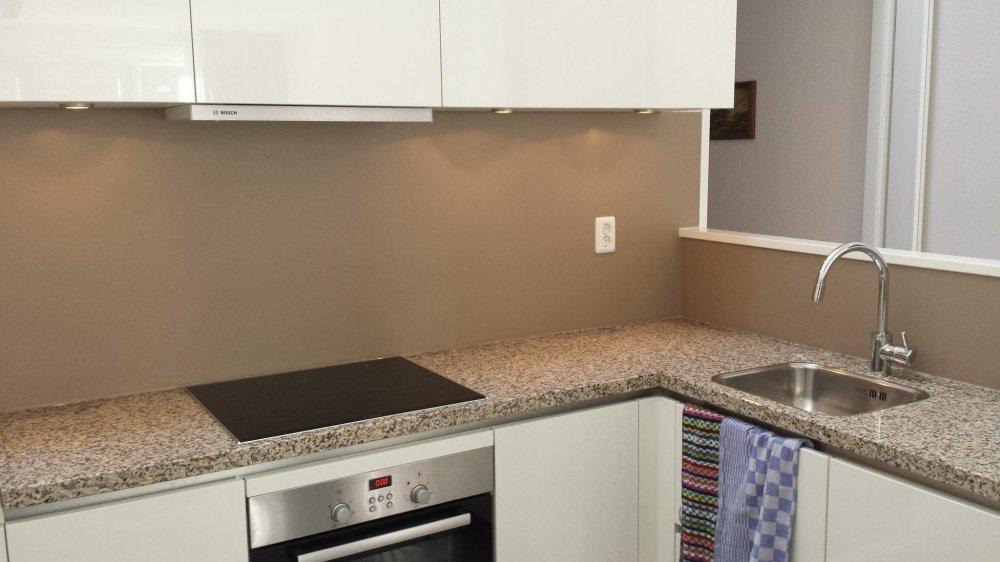 Keuken Achterwand Ideeen : Visualls keukenachterwand collorz product in beeld startpagina