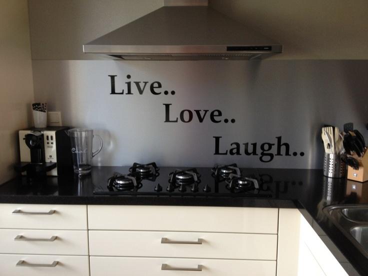 Visualls keukenachterwand curlz rvs product in beeld startpagina voor keuken idee n uw - Rvs plaat voor keuken ...