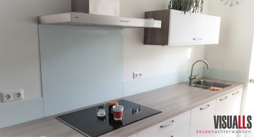 Glaswand Keuken Foto : Visualls glazen keukenachterwanden uw keuken