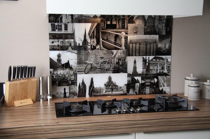 Visualls keukenachterwand Premium Glas Product in beeld