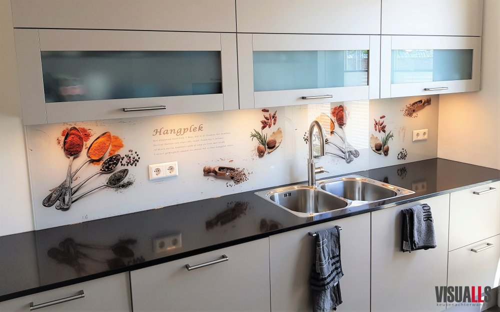 Premium Glas keukenwanden