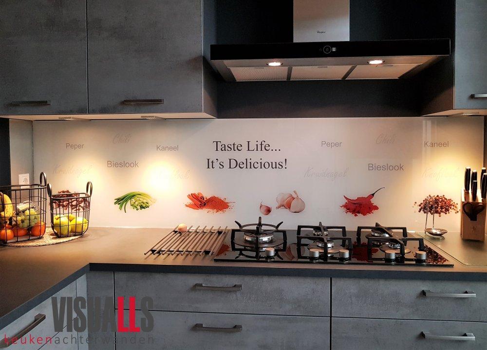 Originele keukenwanden van Visualls
