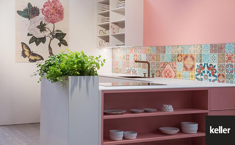 Voorjaarskleuren in uw keuken