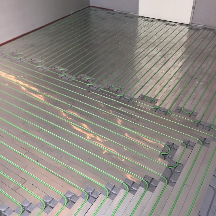 SpeeTherm droogbouw vloerverwarming | WARP Systems