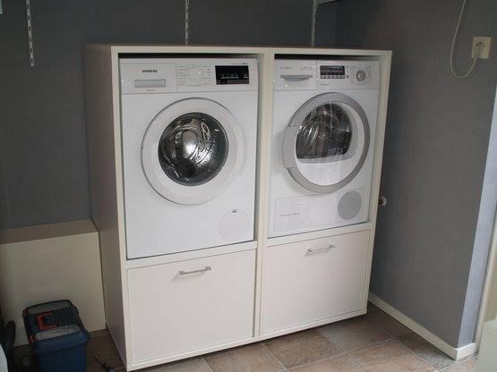 Inbouwkast Wasmachine Bijkeuken Wastoren Uw Keukennl
