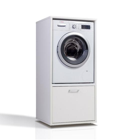 Hoge wasmachinekast bijkeuken | Wastoren.nl