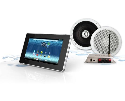 Waterdichte tablet TEC3716W met Bluetooth versterker