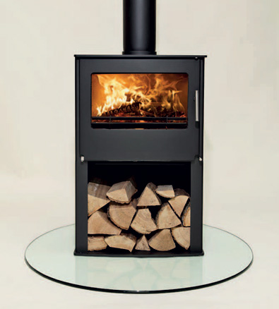 Westfire Two houtkachel met voet