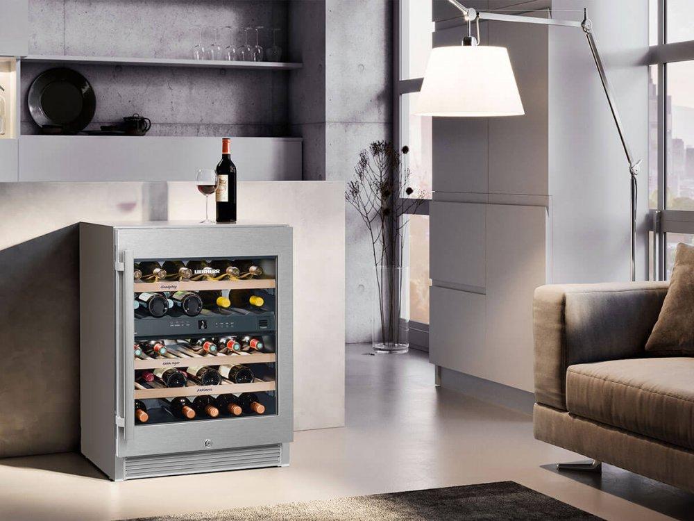 Wijnkoelkast onderbouw liebherr uw keuken