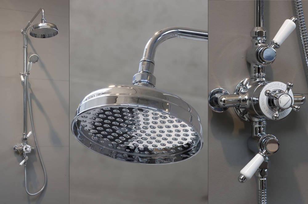 Windsor klassieke opbouw douchethermostaat