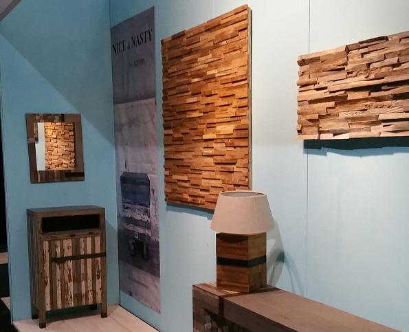 Houten wandpanelen slaapkamer for 3d slaapkamer maken