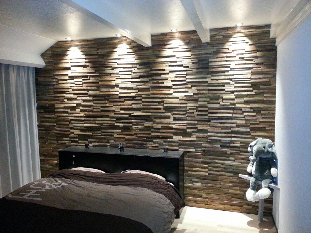 Woodindustries sloophouten wandbekleding product in beeld startpagina voor interieur en for Deco slaapkamer