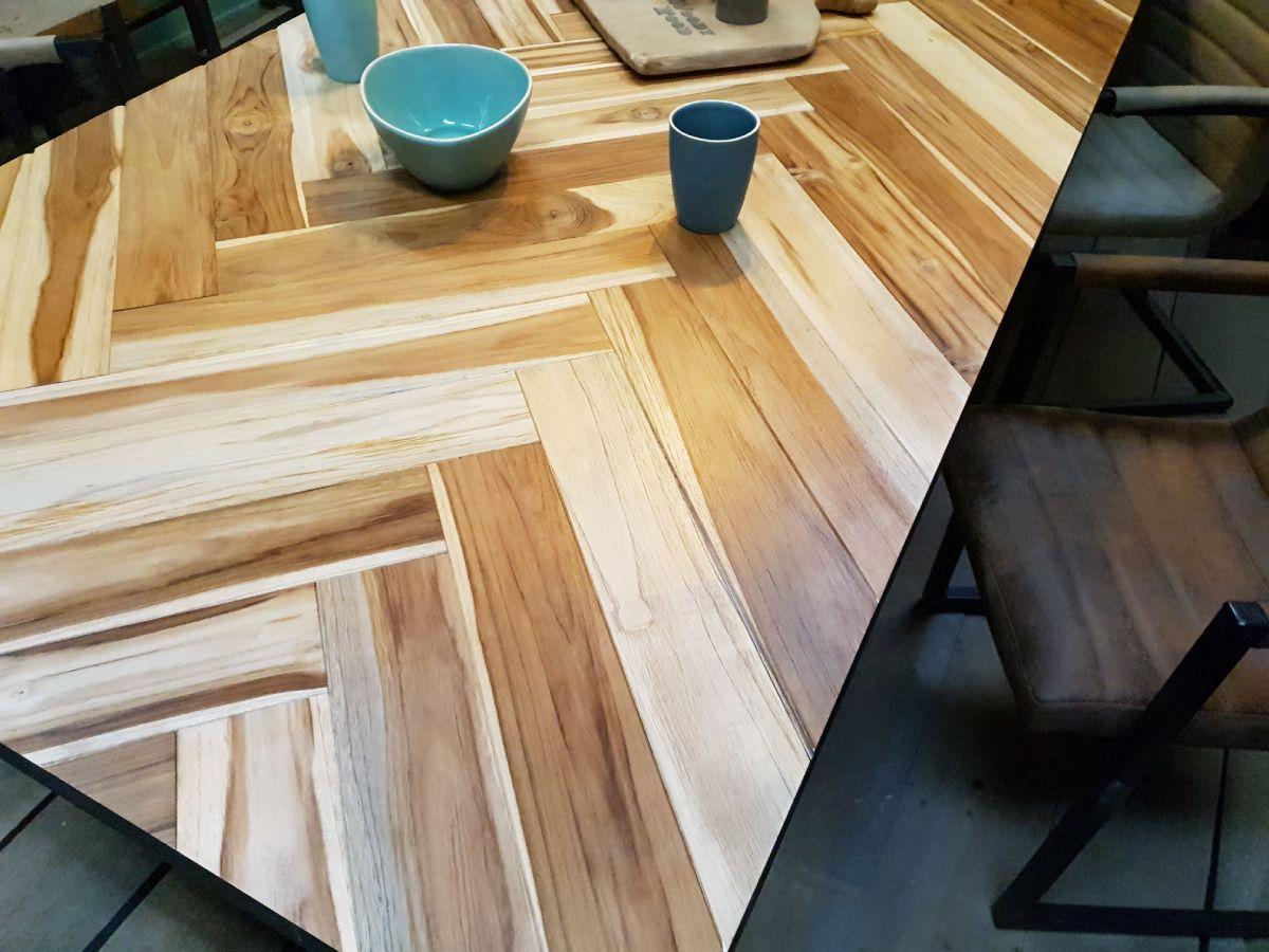 Visgraat tafel | Woondindustries