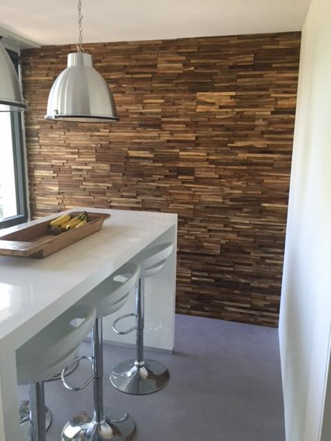 Woodindustries wandbekleding houtstrips - Product in beeld ...