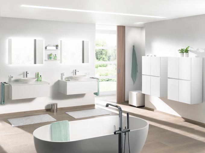 Modern gelakte badkamermeubels | X2O