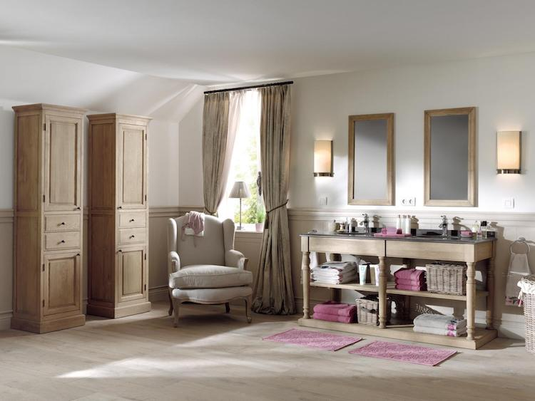 Badkamer in engelse countryside stijl o product in beeld
