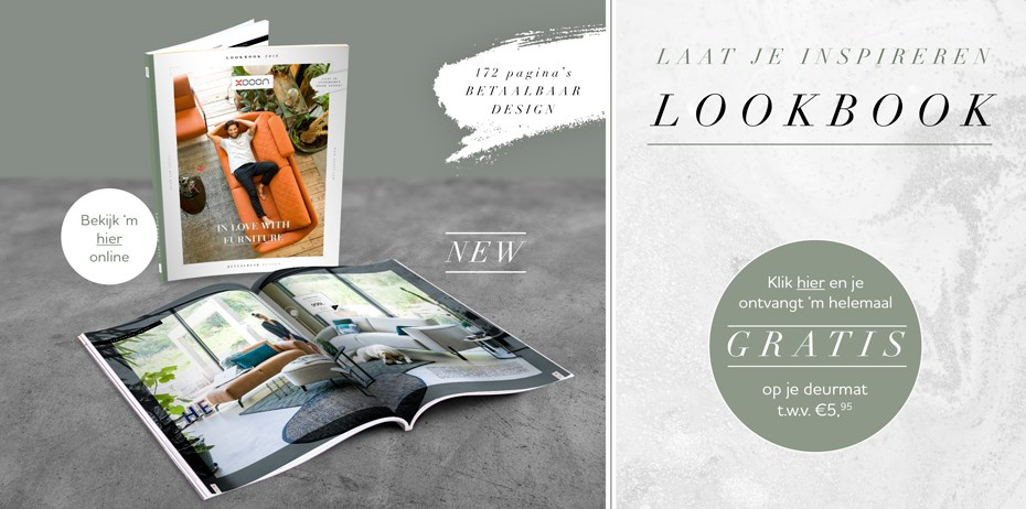 XOOON gratis lookbook designmeubelen