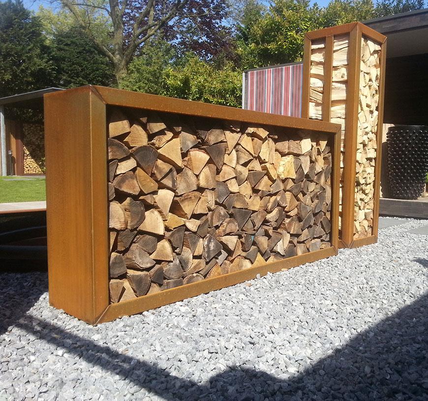 Zeno houtopslag by dens 500 product in beeld startpagina voor tuin idee n uw - Separador jardin ...