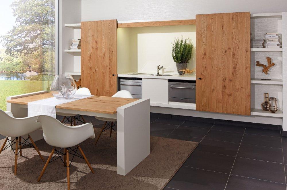Zeyko keuken Planeo Asteiche Vari (pantry)