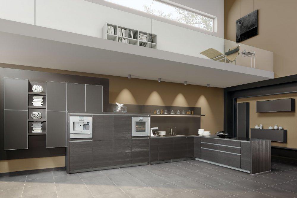 Zeyko keuken Struktura Facett Vitrin