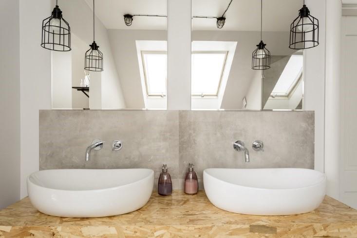Industriele badkamer volgens de laatste trends #badkamer #inspiratie