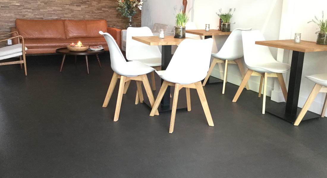 Gietvloeren voor elke ruimte #gietvloer #winkel #interieur