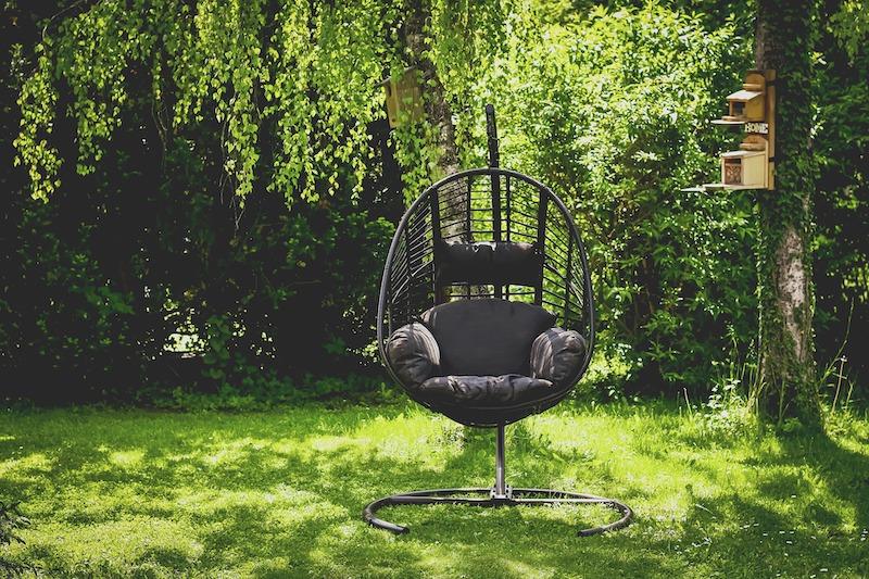 Vakantie in eigen tuin #fonteyn #tuin