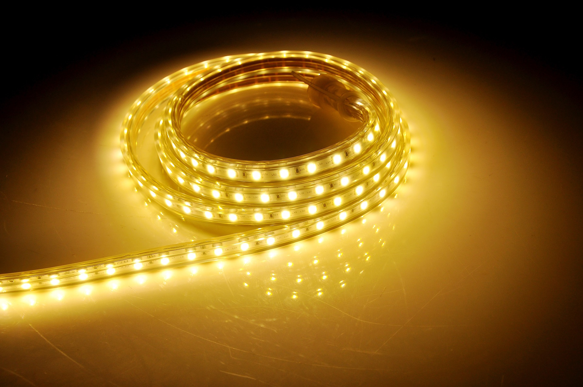 Een droominterieur met led strips #rgbledstrip #ledstrip #ledverlichting #interieur