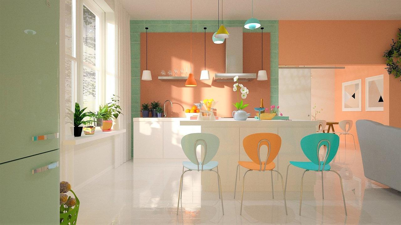 Raam keuken. Populair: PVC jaloezieen #jaloezieen #pvc #raambekleding