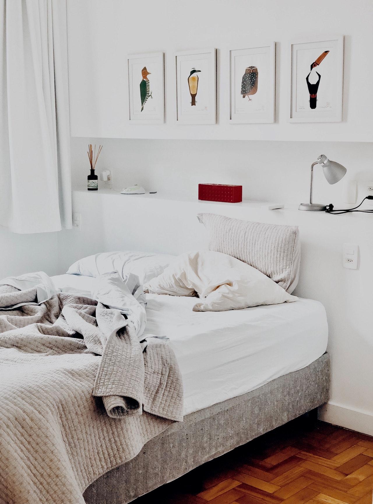 Hoe vaak moet je je lakens verschonen? #slaapkamer #beddengoed