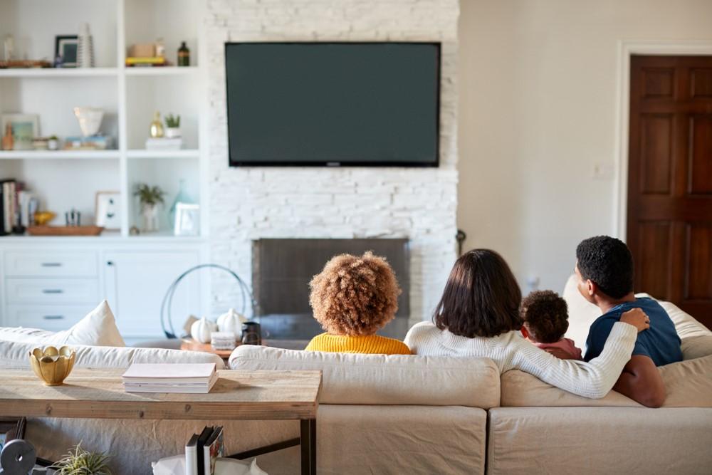 Het gemak van een tv-beugel