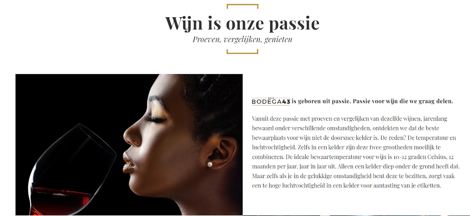 Een Bodega43 Wijnklimaatkast voegt stijl en elegantie toe aan je woning #wijnklimaatkast #wijn #wijnkast #bodega43