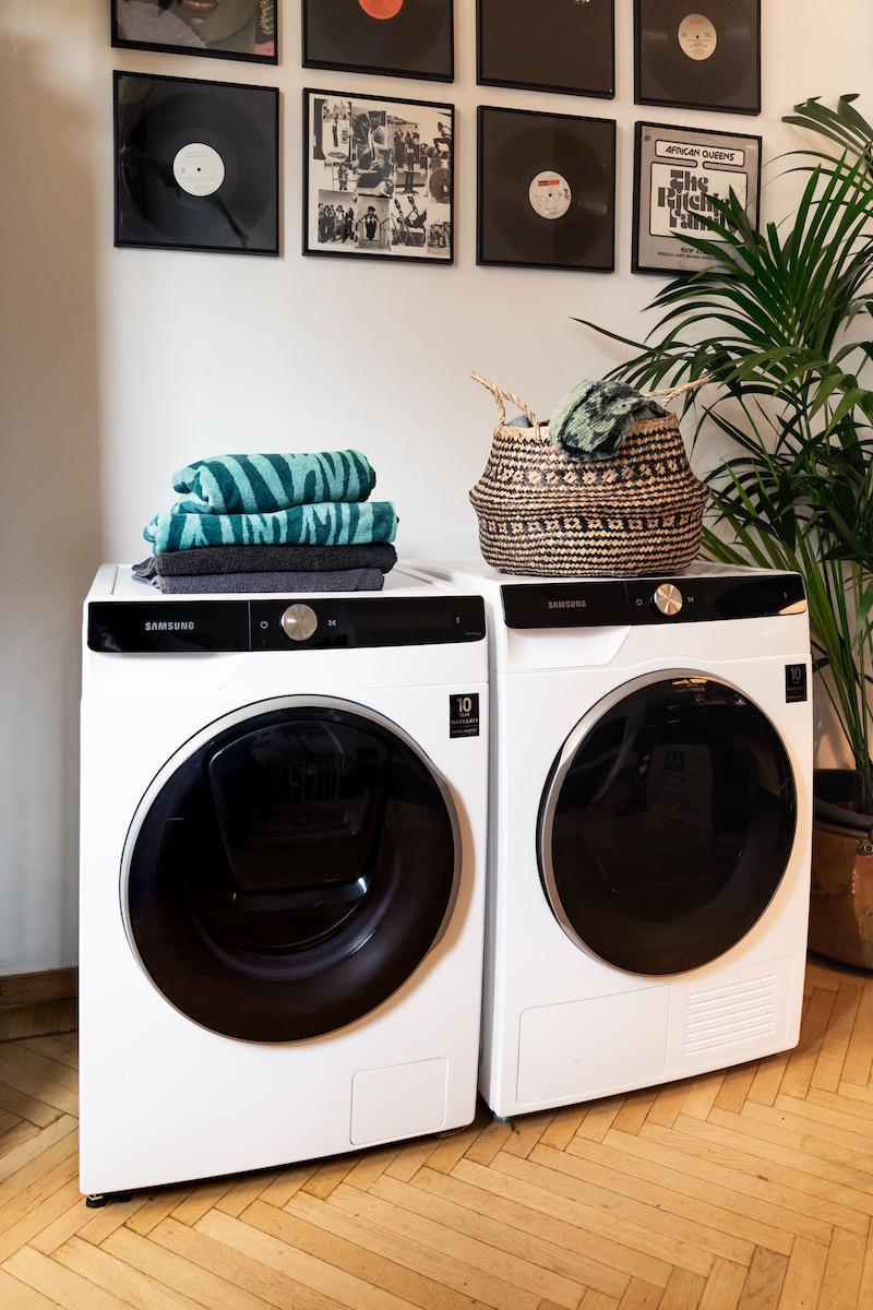 Slim en energiezuinig wassen met een smart wasmachines #samsung #wasmachine #wassen