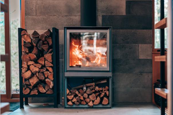 Brandstoffen voor verwarming van de woonkamer met een houtkachel #kachel