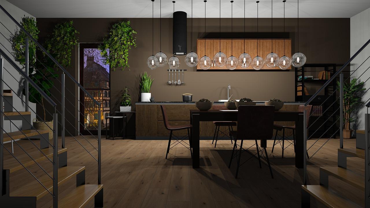 Past hout in een modern interieur? #interieur #hout #modern #tafel #houtentafel #eikentafel