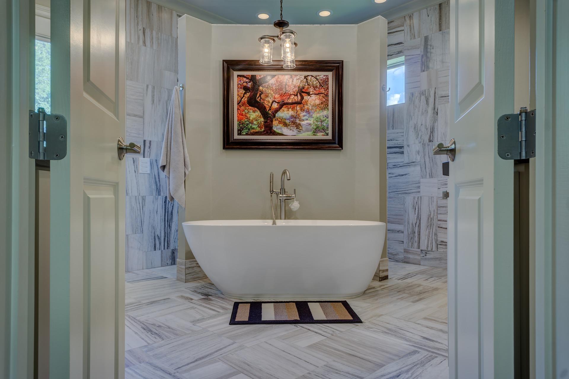5 tips om te ontspannen in je eigen huis #bad #badkamer #badkamerinspiratie