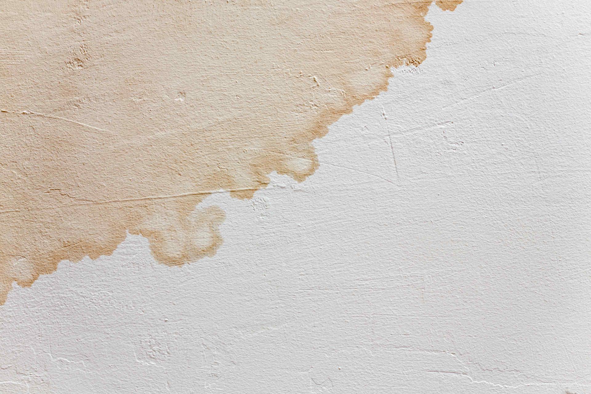 Waterschade zorgt voor lelijke plekken op muren en plafonds #badkamer #waterschade #lekdetectie