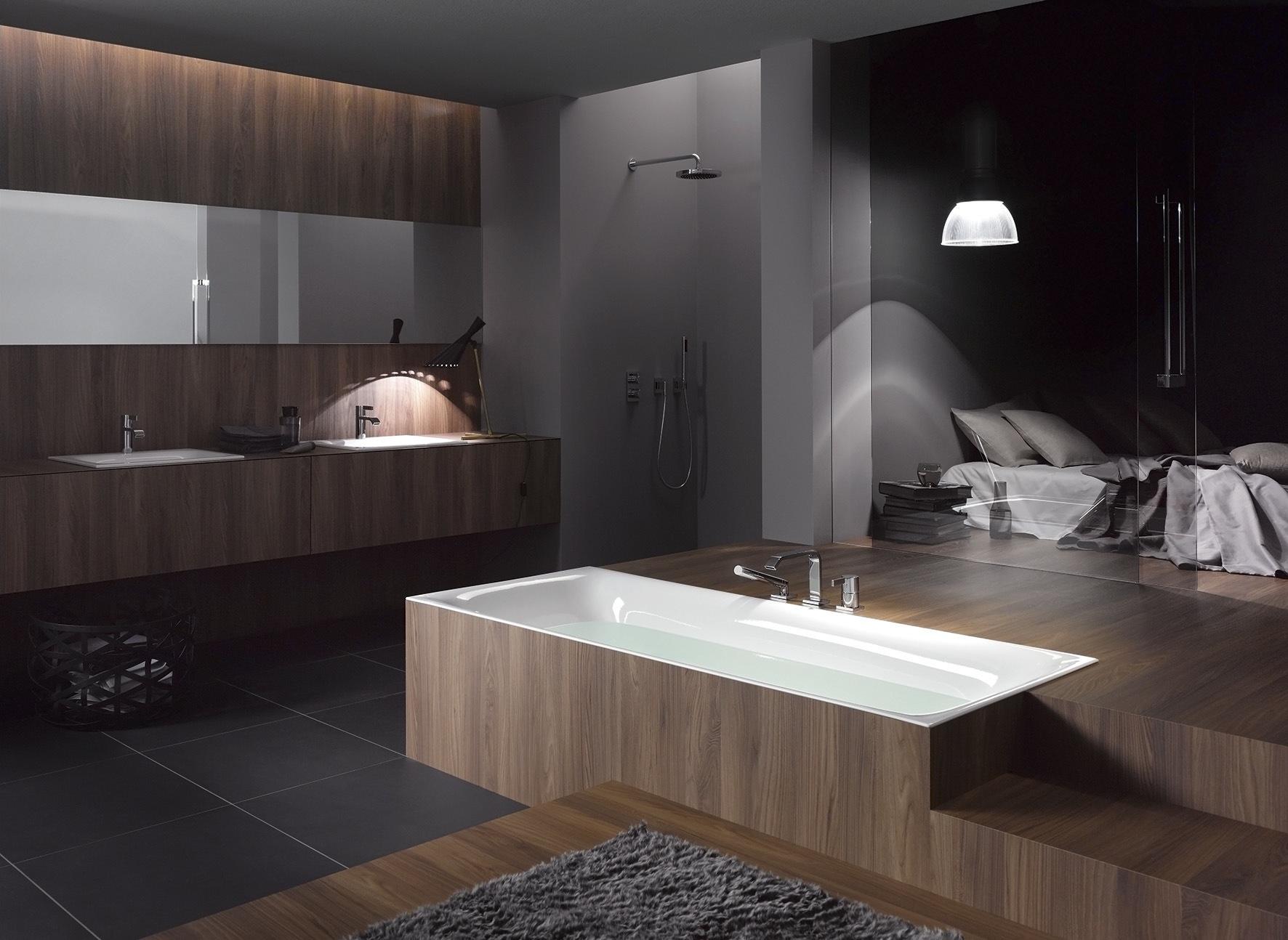 Open badkamer in de slaapkamer #badkamer #badkamerinspiratie
