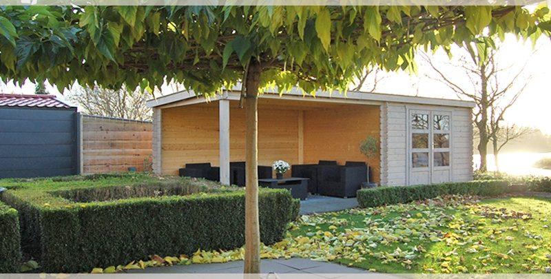 Een blokhut in de tuin? We zetten de voordelen voor je op een rij blokhut tuin tuinhuis overkapping