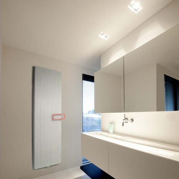 De mooiste designradiatoren voor de badkamer #badkamer #radiator #verwarming #badkamerverwarming