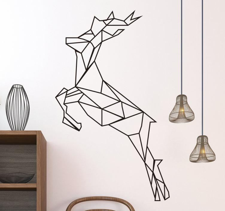 Interieurinspiratie: muurstickers in verschillende stijlen #muurstickers #interieur #scandinavisch