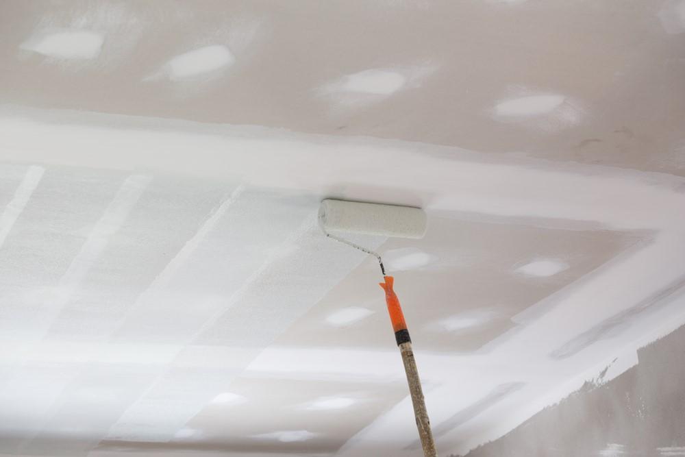 Verbouwen en verhuizen: plafond schilderen - wat heb je nodig? #schilderen