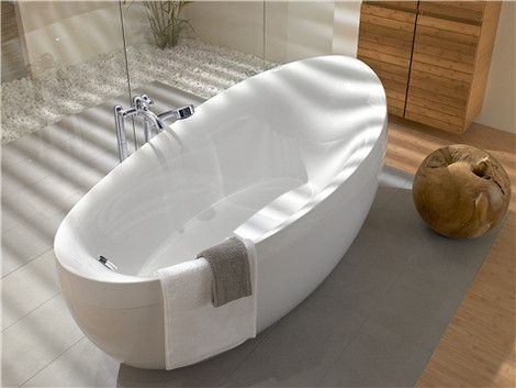 Badkamer met Villeroy & Boch bad vrijstaand
