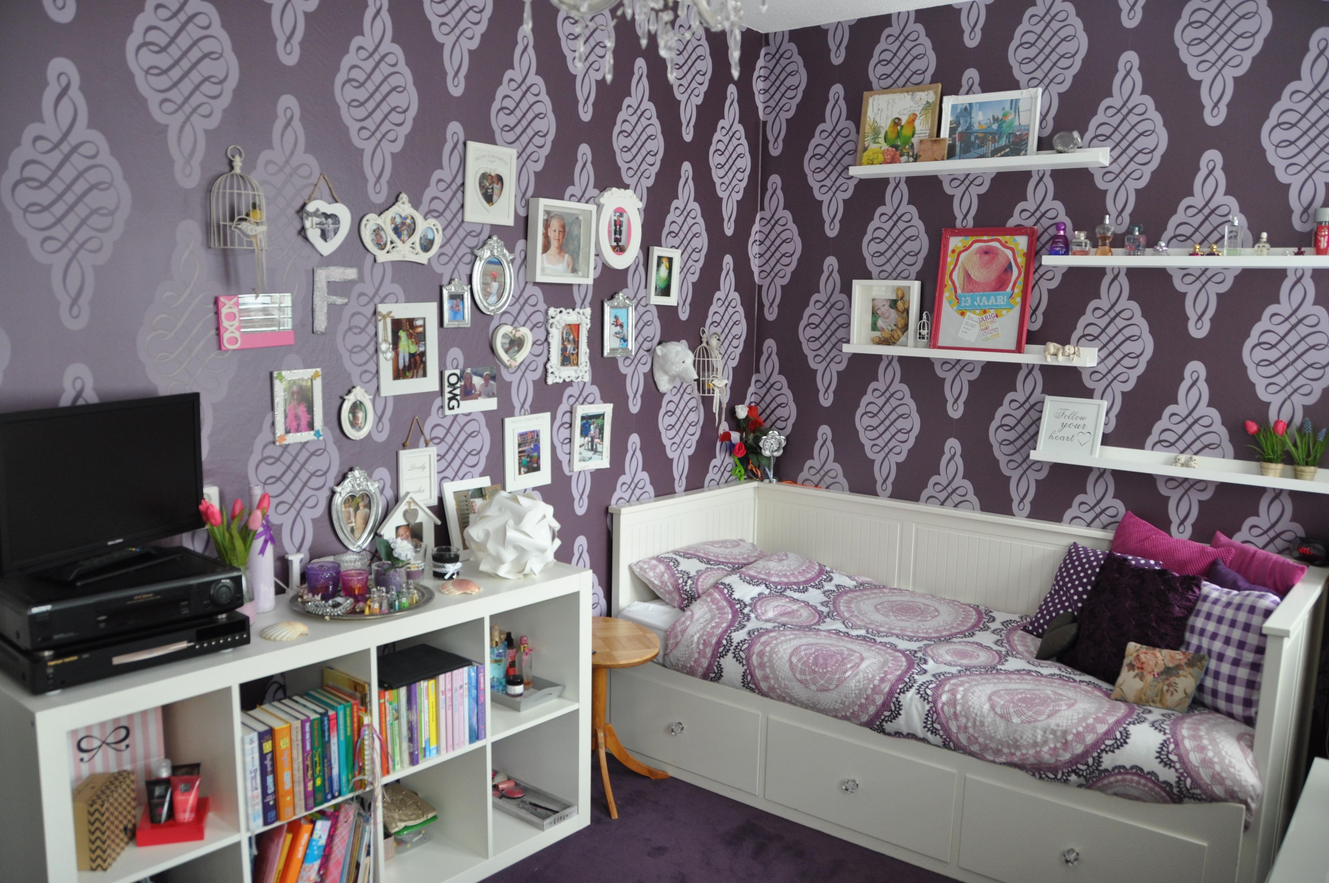 Slaapkamerruil StylingID - meisjeskamer voor ruil