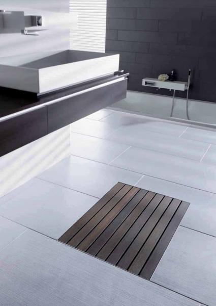 Aco showerdrain badkamer