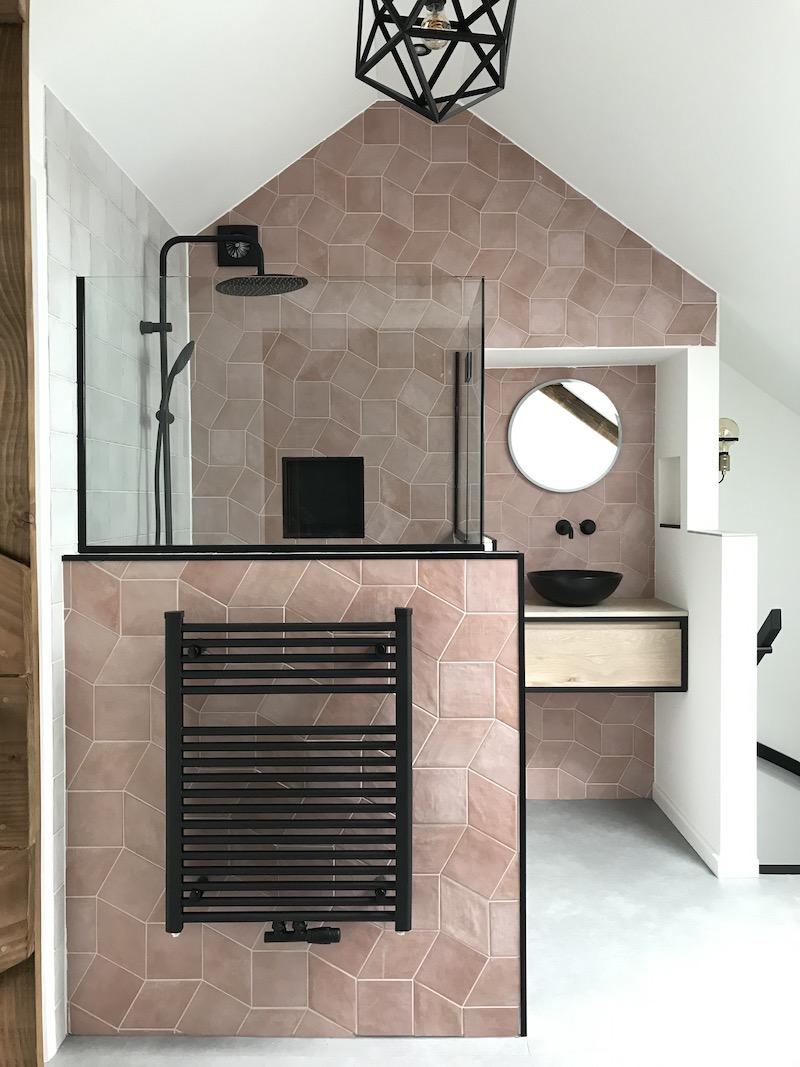 Designtegels voor de badkamer #badkamertegels #tegels #designtegels.nl