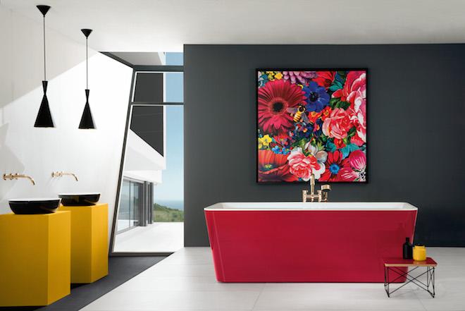 Blog UW-Woonmagazine Baden van Villeroy en Boch Dutch Design door Styling ID gekleurde baden