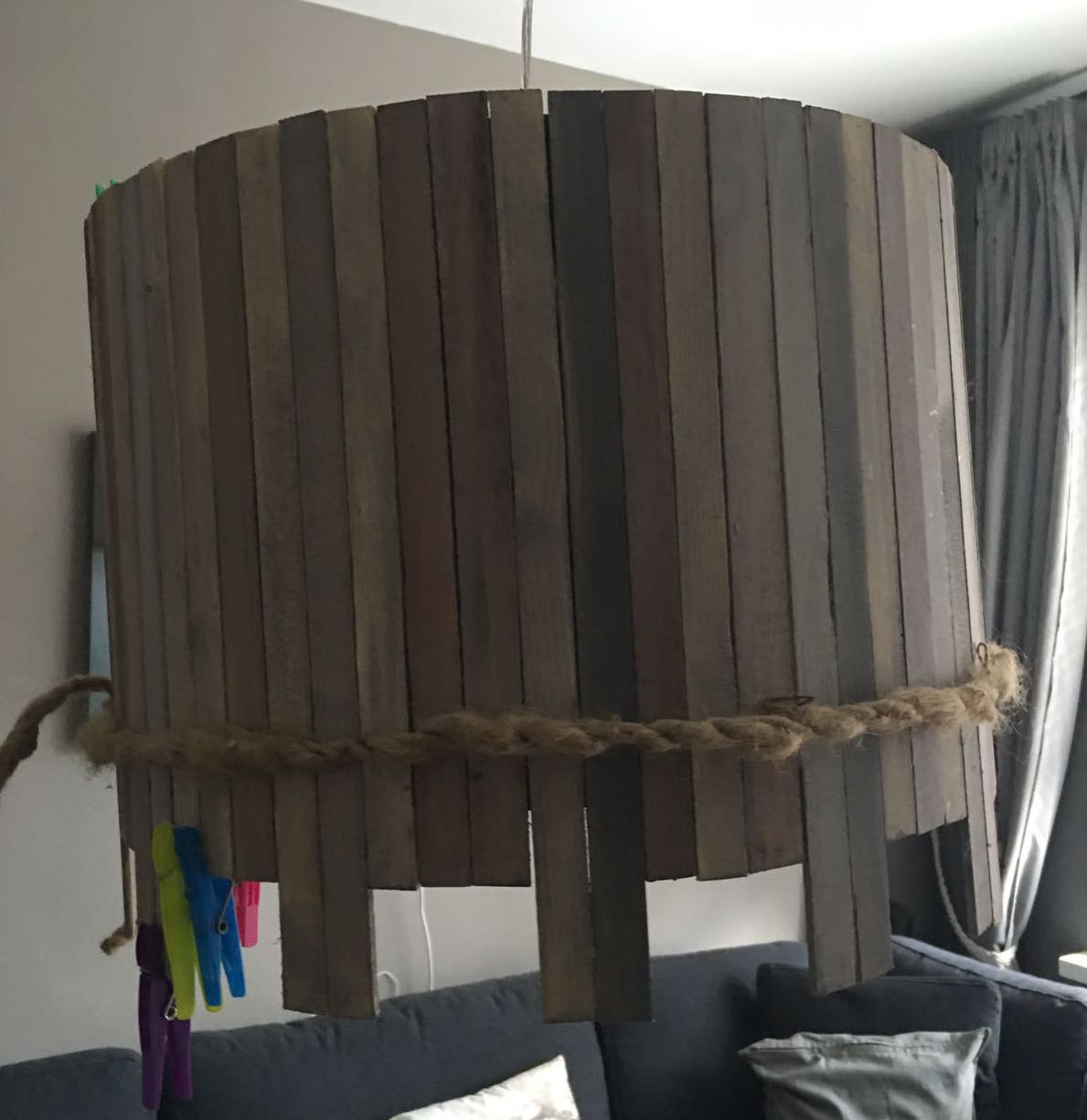 Woonblog DIY Pimp je lampenkap Styling ID stap 3